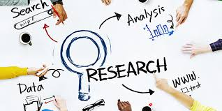 This image shows the key aspects of research.