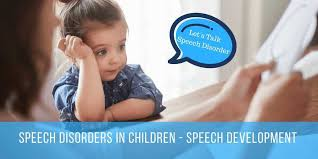 Picture for advertisement of speech development lessons for children with speech disorders