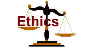 The study of ethics is the study of moral right and wrong illustrated by balance