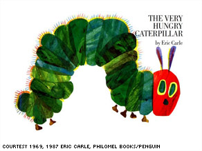 a children's book: The Very Hungry Caterpillar