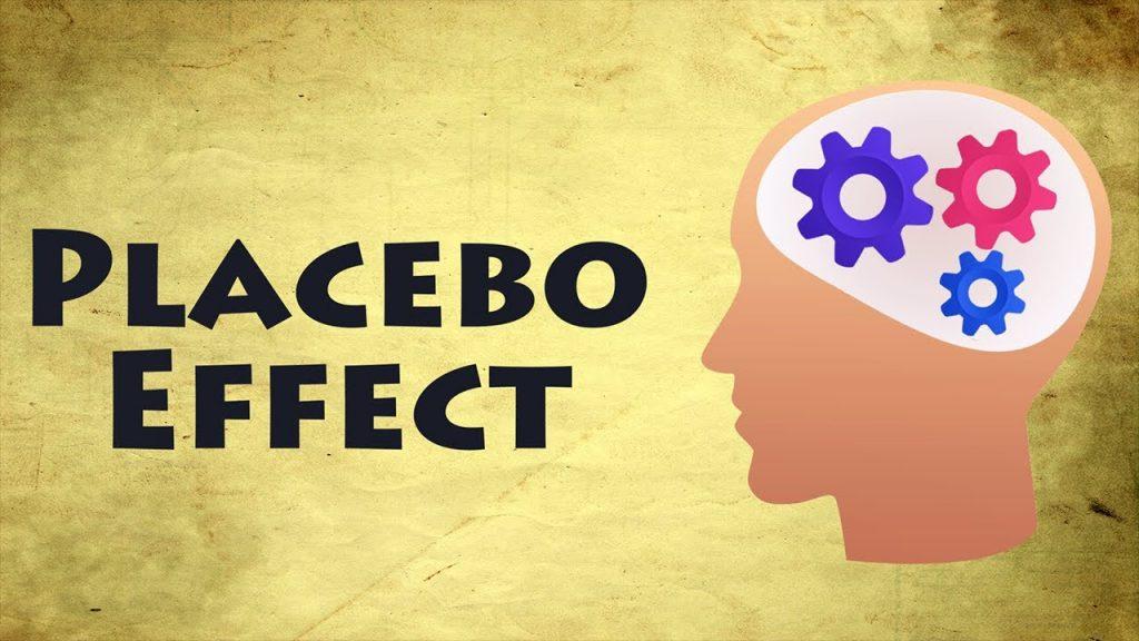 A poster written PLACEBO EFFECT