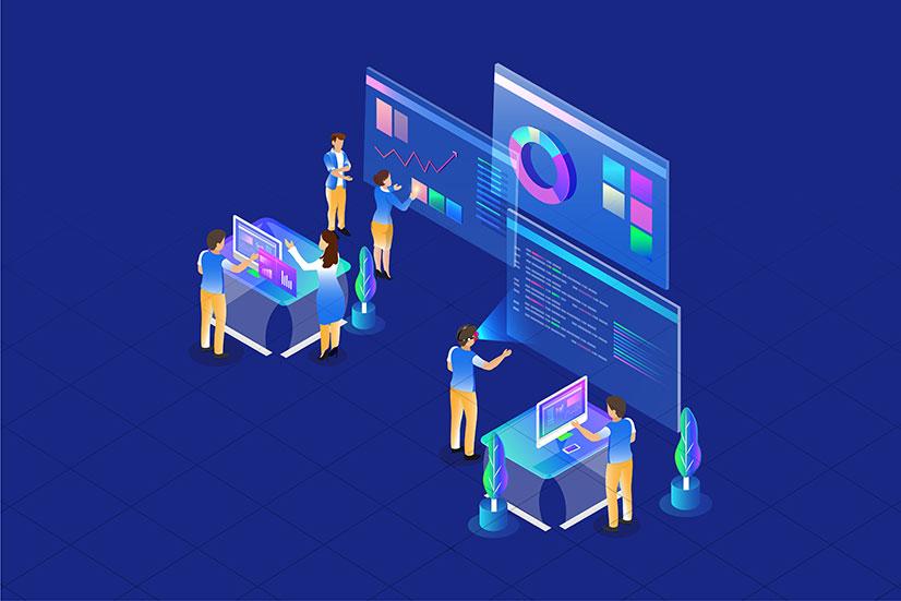 An image of data analytics