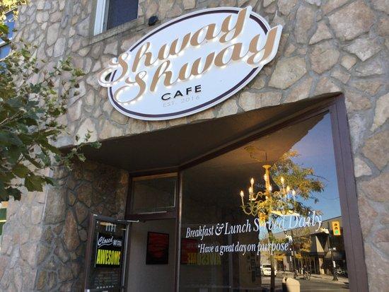 Shway shway cafe entrance