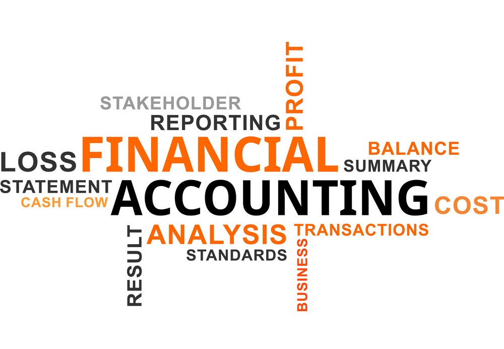 A word art written FINANCIAL ACCOUNTING and other related topics