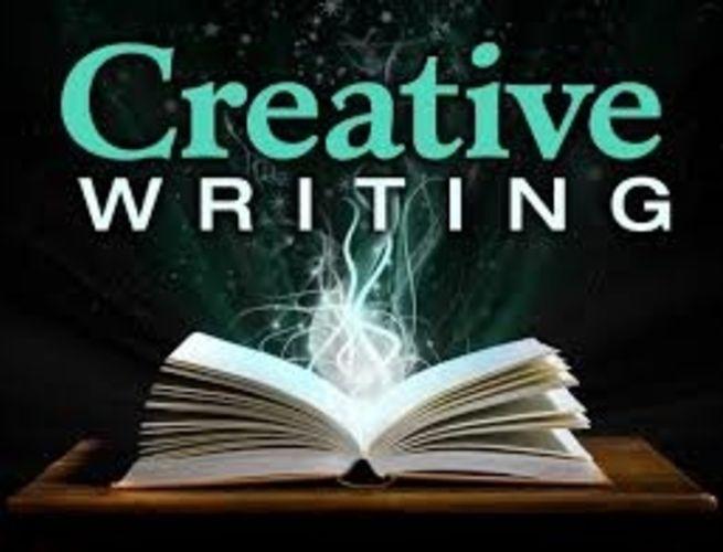 A poster written Creative WRITING