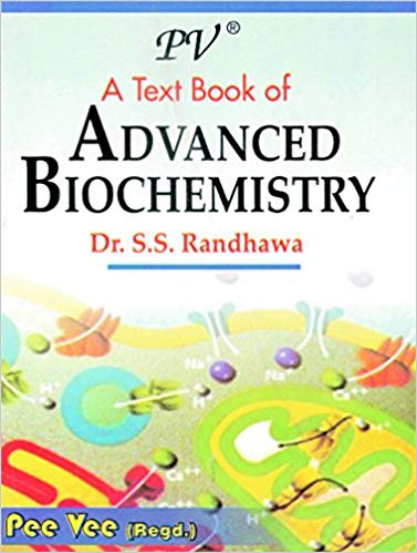 An Advanced Biochemistry textbook cover
