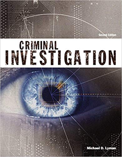 A Criminal Investigation textbook cover