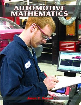 An Automotive Mathematics textbook cover
