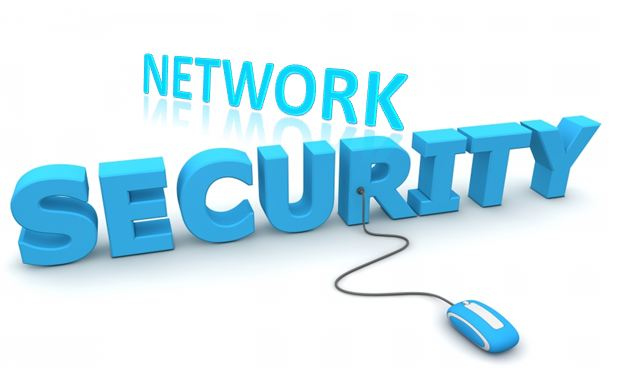 "A poster written ""NETWORK SECURITY"""