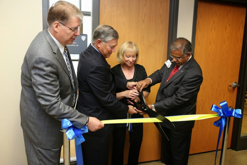 The opening of the Accounting Lab at the college of business and innovation