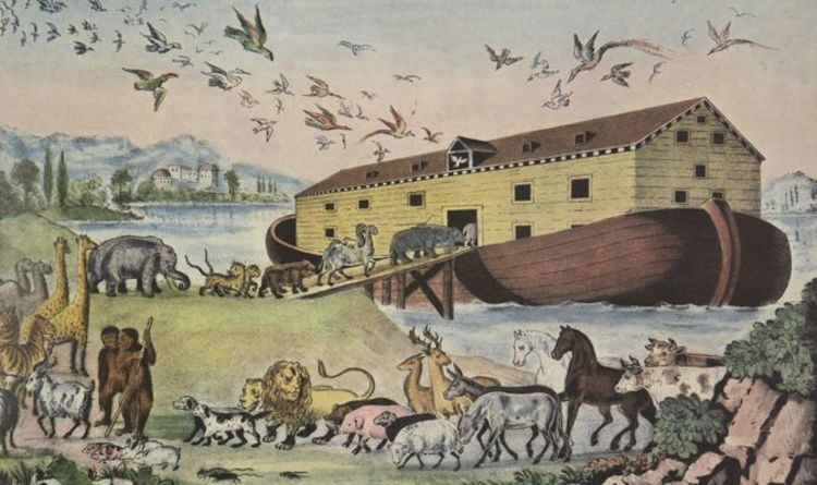 Noah's Ark is an example of an apocalyptic story in ancient mythology.
