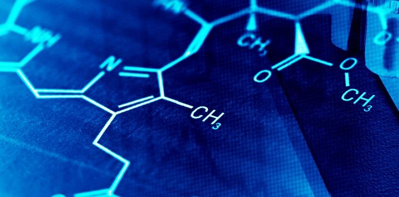 Picture of bonds in biochemistry