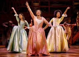 Picture of Hamilton, an American Broadway show that has become a pop culture phenomenon.