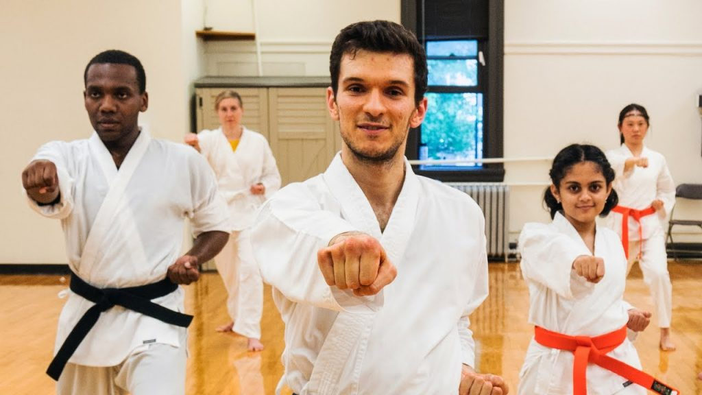 Karate is a versatile and inclusive art