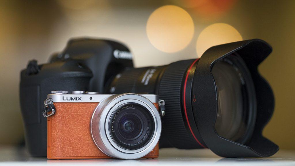 An image of digital cameras