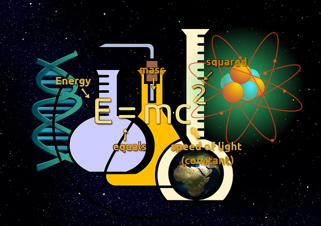 This image portrays various aspects of the physical sciences.