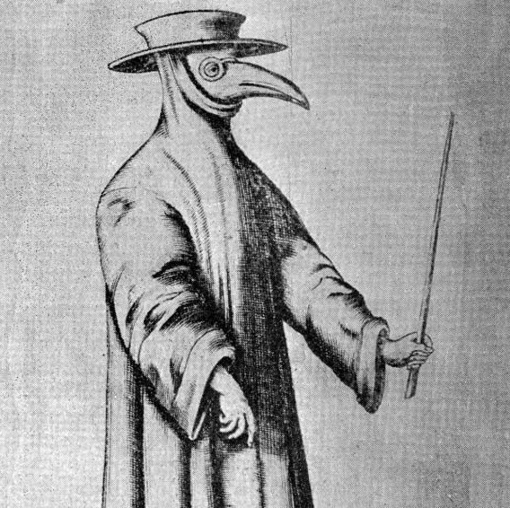A plague doctor tries to cure people infected with the Black Death to no avail.