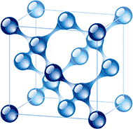 Molecular configuration of a solid