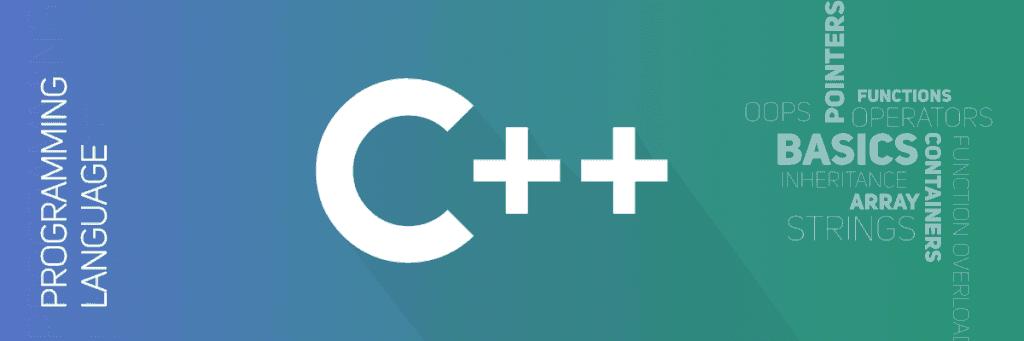 c++ front image of program basics