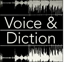 A Voice and Diction poster