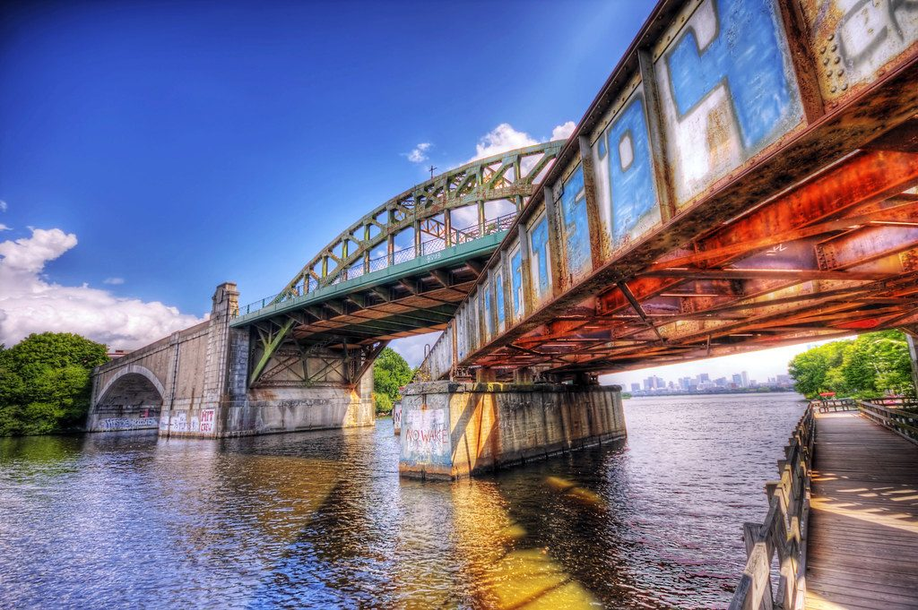 BU bridge artsy photograph