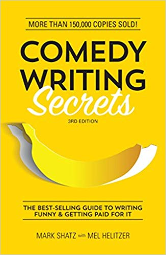 A COMEDY WRITING textbook cover