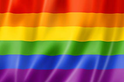the colors of the lgbtq flag