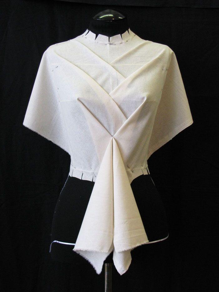 A well-designed dress top