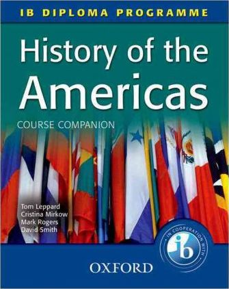 A history of the Americas textbook cover