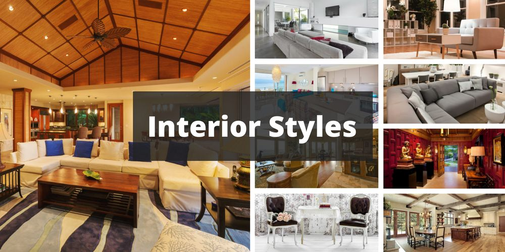 An image of various interior designs