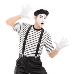 An image of a mime artist