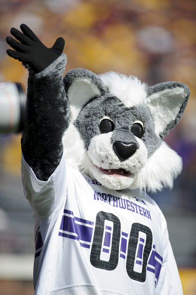 picture of Willie the Widlcat mascot