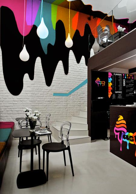 an image of a well designed ice cream shop