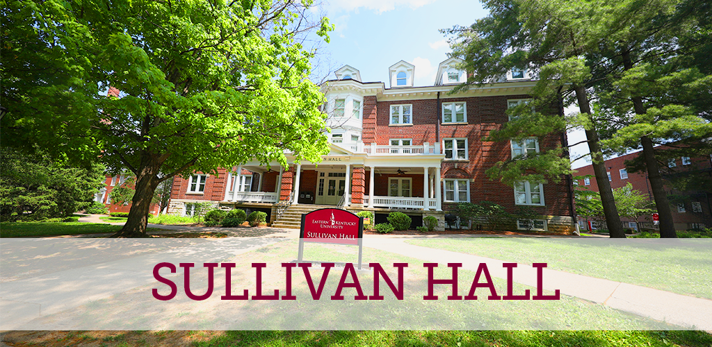 Sullivan Hall has a trendy front porch