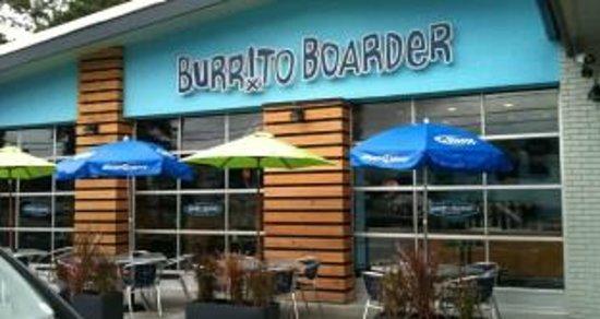 the outside o burrito boarder restaurant