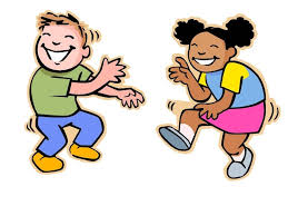 Cartoon of two people enjoying the art of dance.