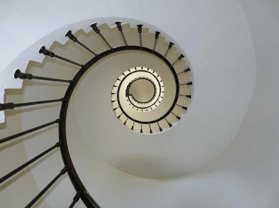 photo of circular stairs