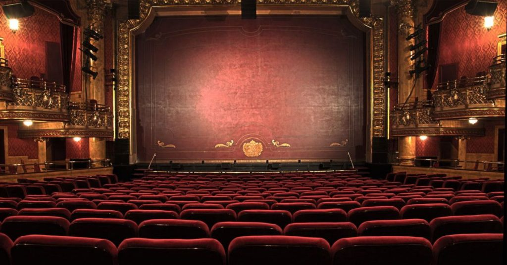 picture of an old theatre
