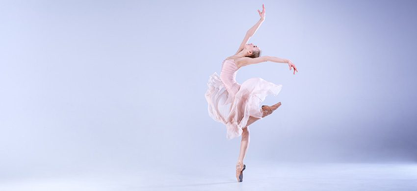 a dancer doing a ballet move