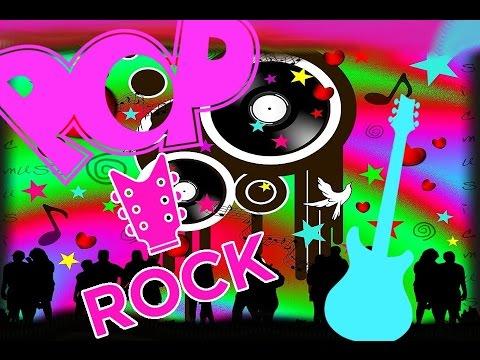 A poster written POP and ROCK
