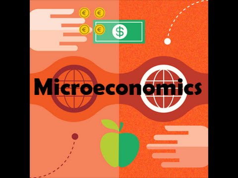 person trading an apple for money illustration microeconomics