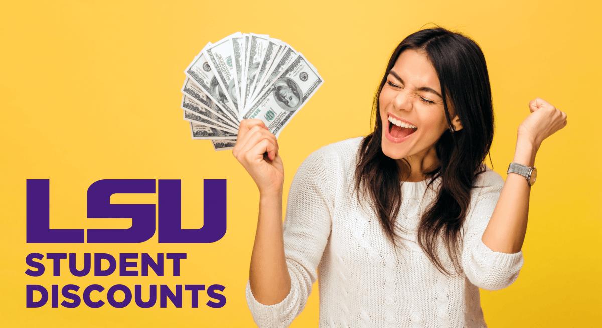 400+ LSU Student Discounts in 2019