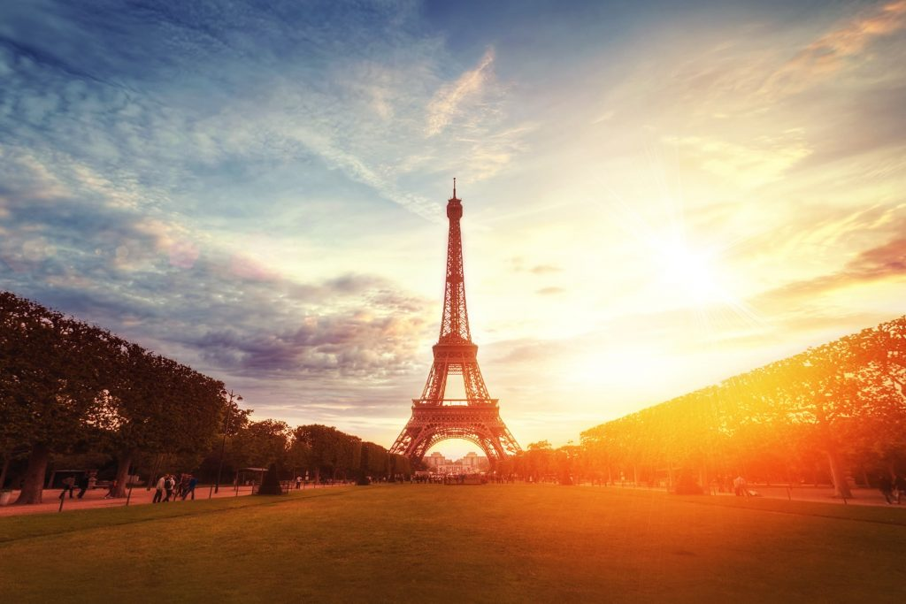 the eiffel tower, a symbol of france