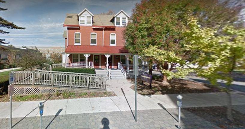 The outside of 13/15 University Avenue