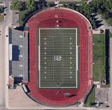Memorial Stadium? bird's eye view