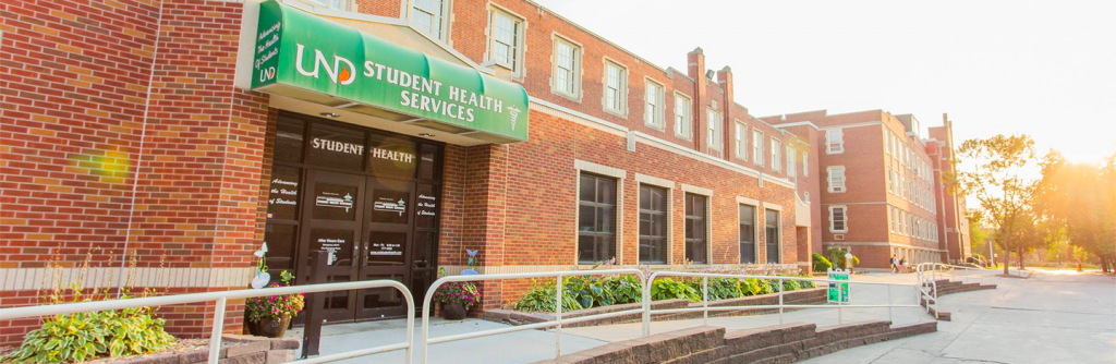 Student Health Services exterior