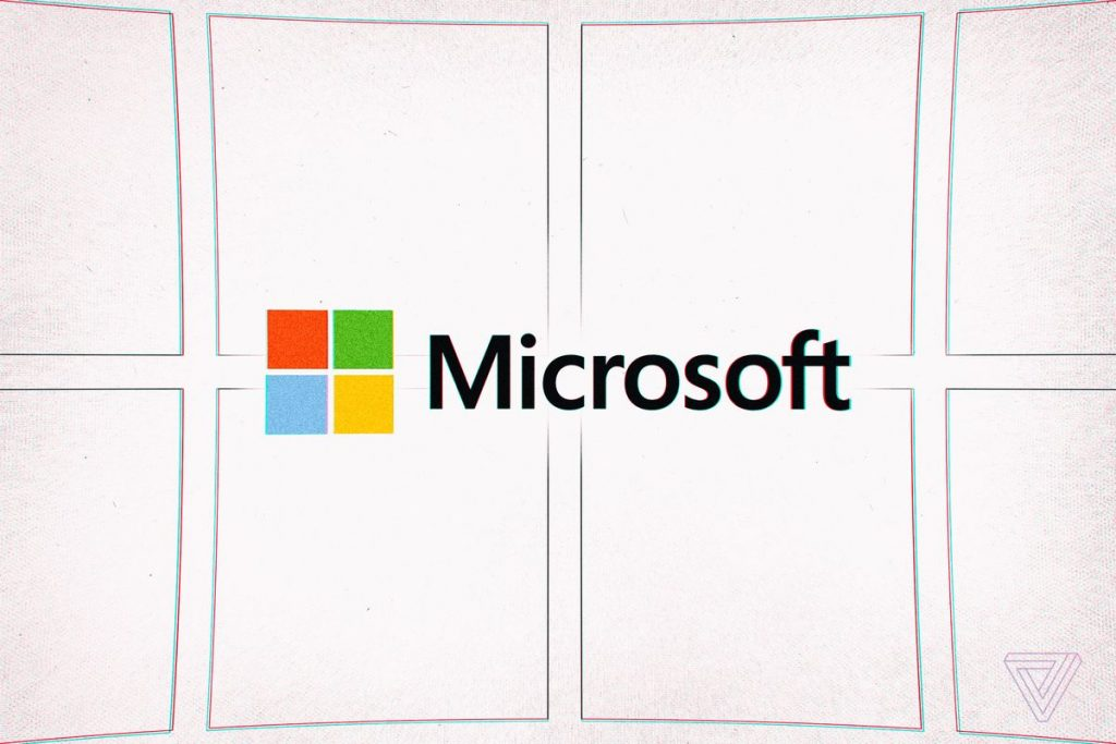 the logo for microsoft
