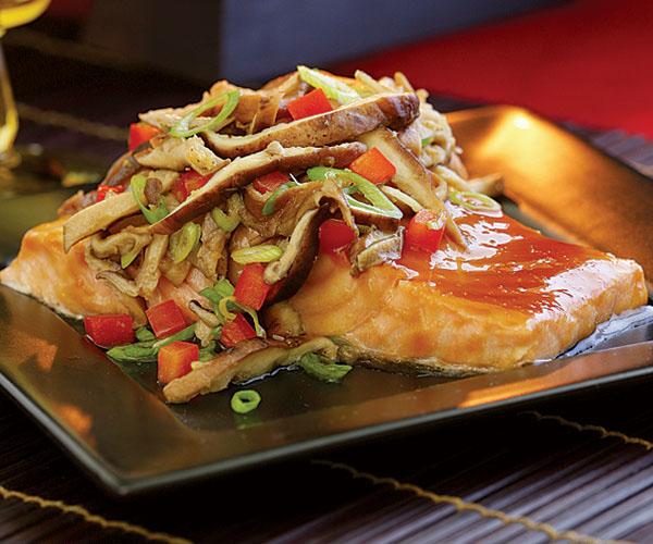 An already prepared cuisine presented on a plate