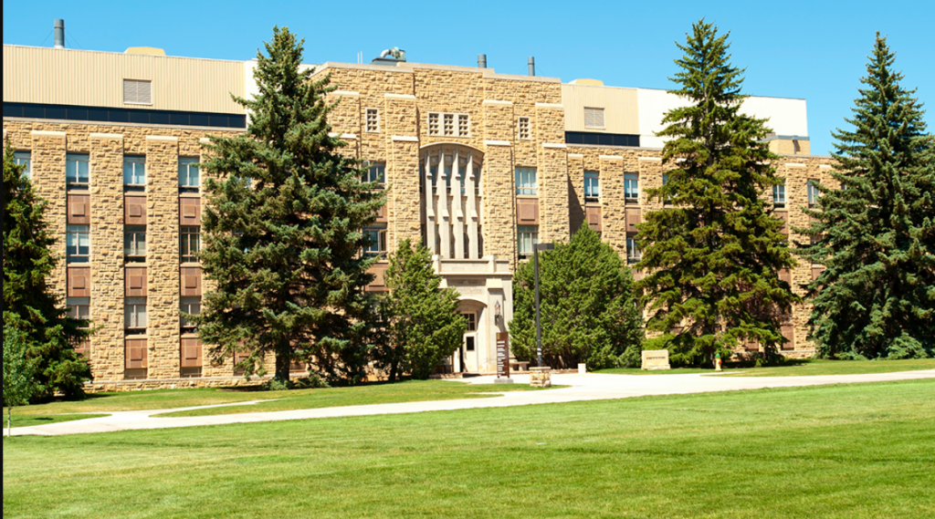 College of Agriculture and Natural Sciences exterior shot