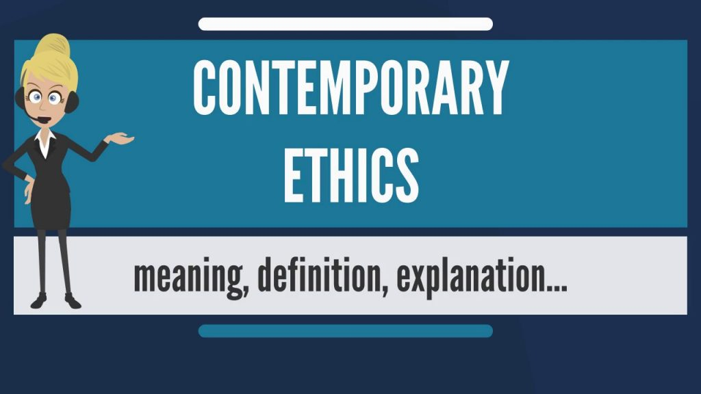 a slide for contemporary ethics